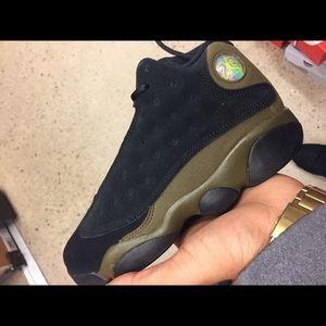 """4127c0940457 Jordan Shoes - Retro Jordan 13 """"olive"""" DS men s size and GS"""